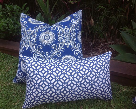 Outdoor Cushions Pillows Cover Only Coastal