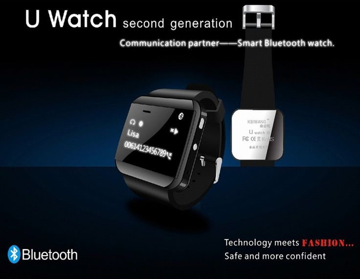 U Watch 2S Bluetooth Waterproof Smartwatches