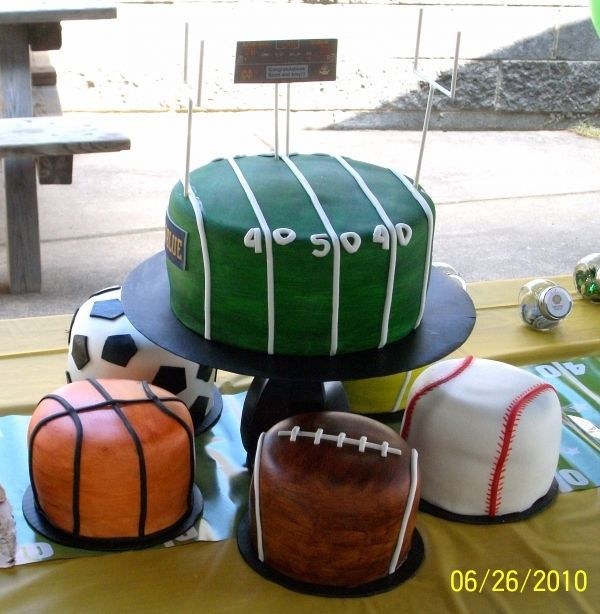 346 best sport themed weddings images on pinterest softball sports theme centerpiece ideas this couple loves sports and had a sports themed wedding reception junglespirit Gallery