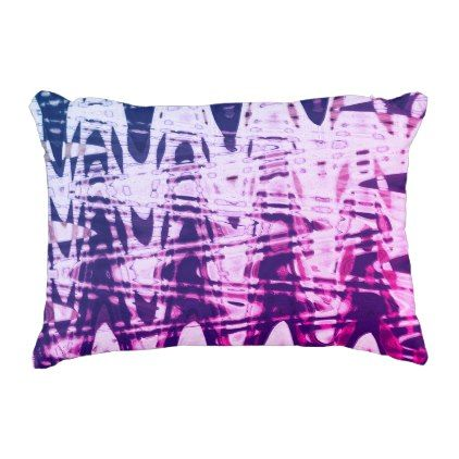 Abstract Metal Sine Purple Throw Pillow - metal style gift ideas unique diy personalize