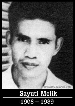 Mohamad Ibnu Sayuti atau yang lebih dikenal sebagai Sayuti Melik, dicatat dalam sejarah Indonesia sebagai pengetik naskah proklamasi kemerdekaan Republik Indonesia.