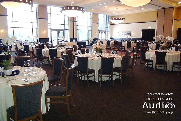 Harry Caray's Ballroom in Lombard, all dressed up for Jane and Ken's wedding. http://www.discjockey.org/real-chicago-wedding-sept-6-2015/