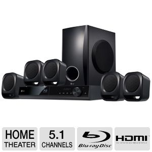 tigerdirect LG BH4120S # Blu-ray Home Theater System - 5.1 Channel, 330W, HDMI Output, FM Radio, External HDD Playback $139.99