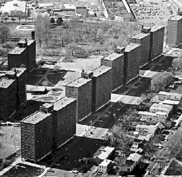 Aerial View Of Curries Woods Apts Jersey City City City Photo