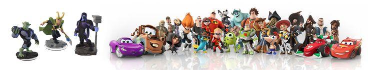 Disney Infinity Character Designs