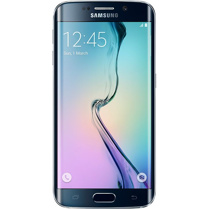 Telefon mobil Samsung Galaxy S6 Edge, 4G, 128 GB, Negru