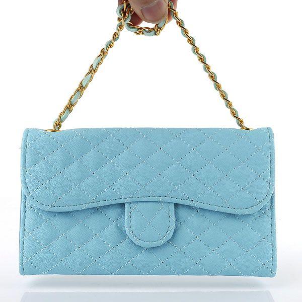 Argyle Bracelet Wallet PU Leather Case For Samsung Galaxy S3 I9300