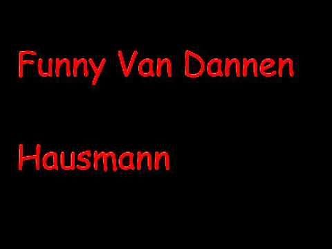 Funny Van Dannen - Hausmann - YouTube