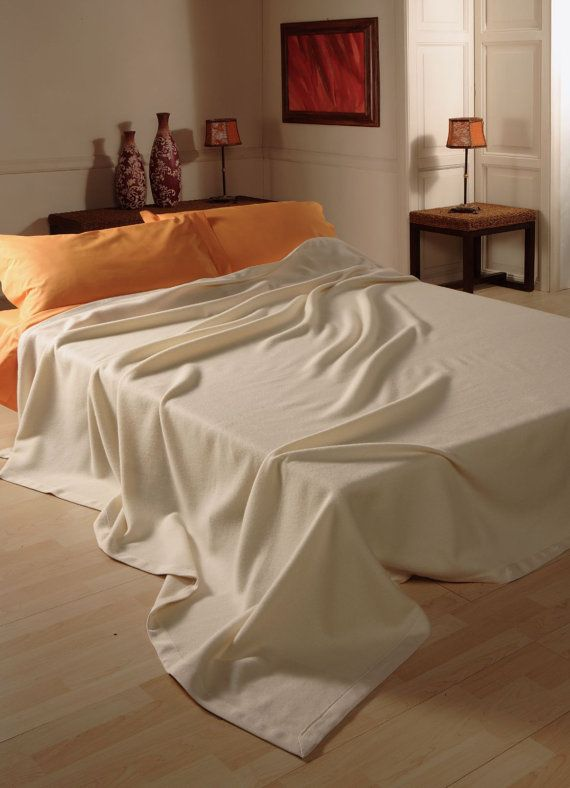 King Size CASHMERE Weighted BLANKET Bed For Winter Debby, Made in Italy, FREE Shipment, Natural colors double face dove grey, invory, brown