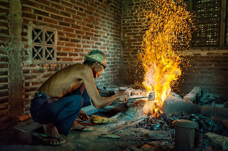 Keris Maker by Mario Wibowo on 500px
