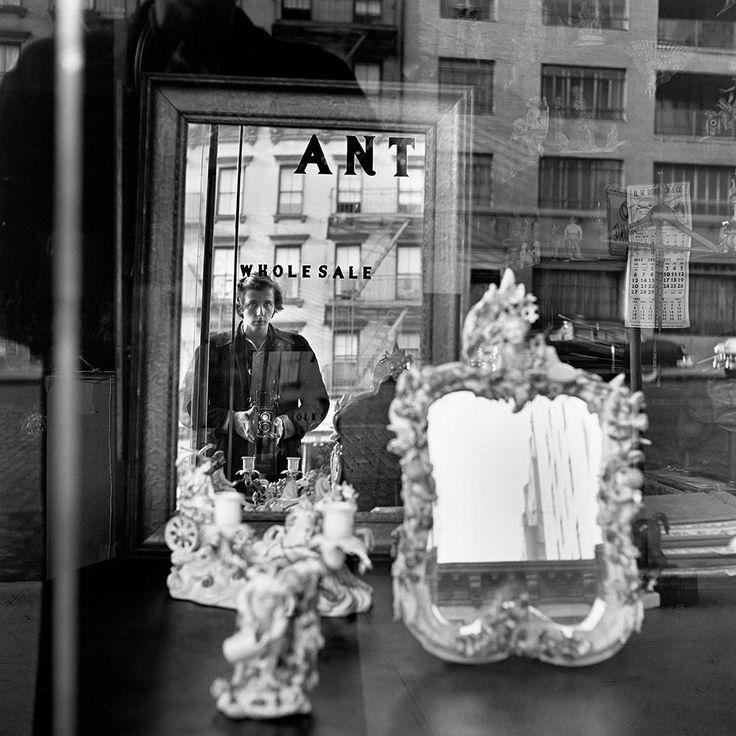 Vivian Maier, Self portrait, 1953