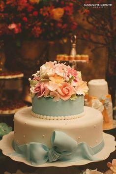 Decoração vintage e romântica para casamento - Em Breve Casadinhos