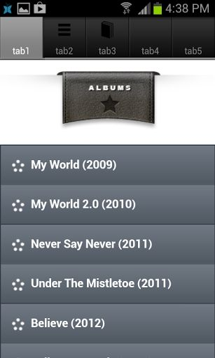 Free Justin Bieber lyrics.  A must-have app for Justin Bieber's #1 fans. Enjoy Justin Bieber lyrics, songs and videos.  Lyrics are listed by albums (chronologically) and by song title (alphabetically). List of Albums: =========== • My World + 2.0 • Never Say Never - The Remixes • Under The Mistletoe • Believe + Acoustic • Journals Some Top Tracks: ============= • Baby • Never Say Never • Boyfriend • One Less Lonely Girl • One Time • Beauty A...