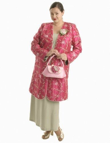 Dragon Lady Coat in Fuchsia Embroidered and Beaded Taffeta (Plus-Size)  SHOP NOW: Unique jackets for women Sizes 14 - 36, mother of the bride, special occasion, artwear, elegant and unique women's clothing,xoPeg #PeggyLutzPlus #PlusSize #style #plussizestyle #plussizeclothing #plussizefashion #womenstyle #womanstyle #womanfashion #springwedding #springstyle #fallstyle #fallfashion #formal  #couture #divastyle #pluswedding #plusbridal