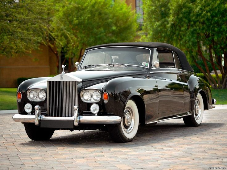 Rolls-Royce Silver Cloud III Convertible Coupé 1964