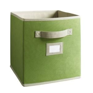 Martha Stewart Living, 10-1/2 in. x 11 in. Green Fabric Drawer, 4924 at The Home Depot - Mobile