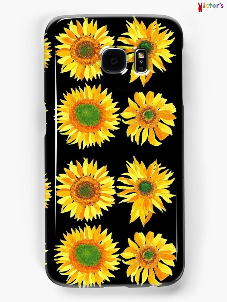 Sun flower phone case on Redbubble. You can also buy this print as a wall art, home decor, clothing or accessories.