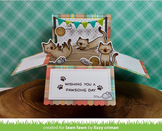 the Lawn Fawn blog: Lawn Fawn Intro: Scalloped Box Card Pop-up
