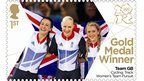 Dani King, Joanna Rowsell and Laura Trott won gold for Great Britain in the women's team pursuit. More inspirational ladies!