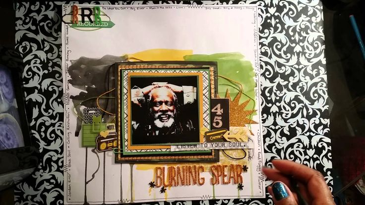 Burning Spear Layout share