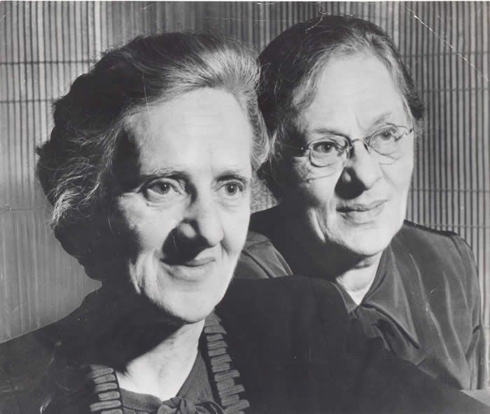 Goldstein Museum of Design- College of Design at the University of Minnesota -(photo of Harriet and Vetta Goldstein)