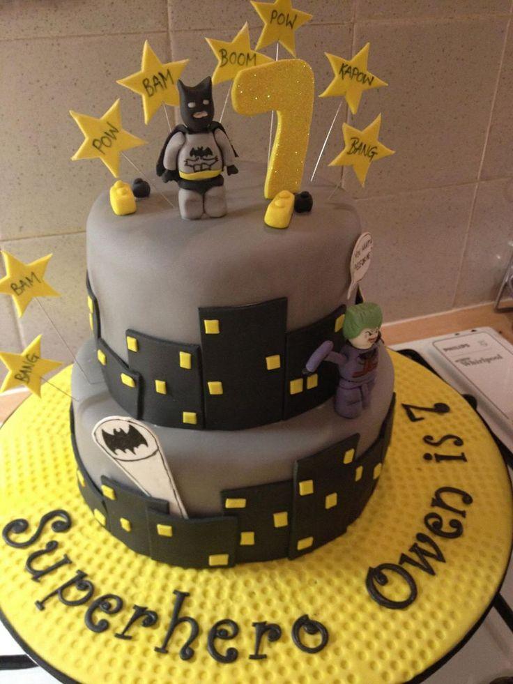Lego Batman Cake Design : 33 best Seans Bday - Ideas images on Pinterest Birthday ...