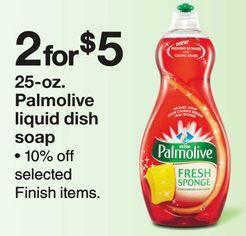 Manufacturer Palmolive Coupon