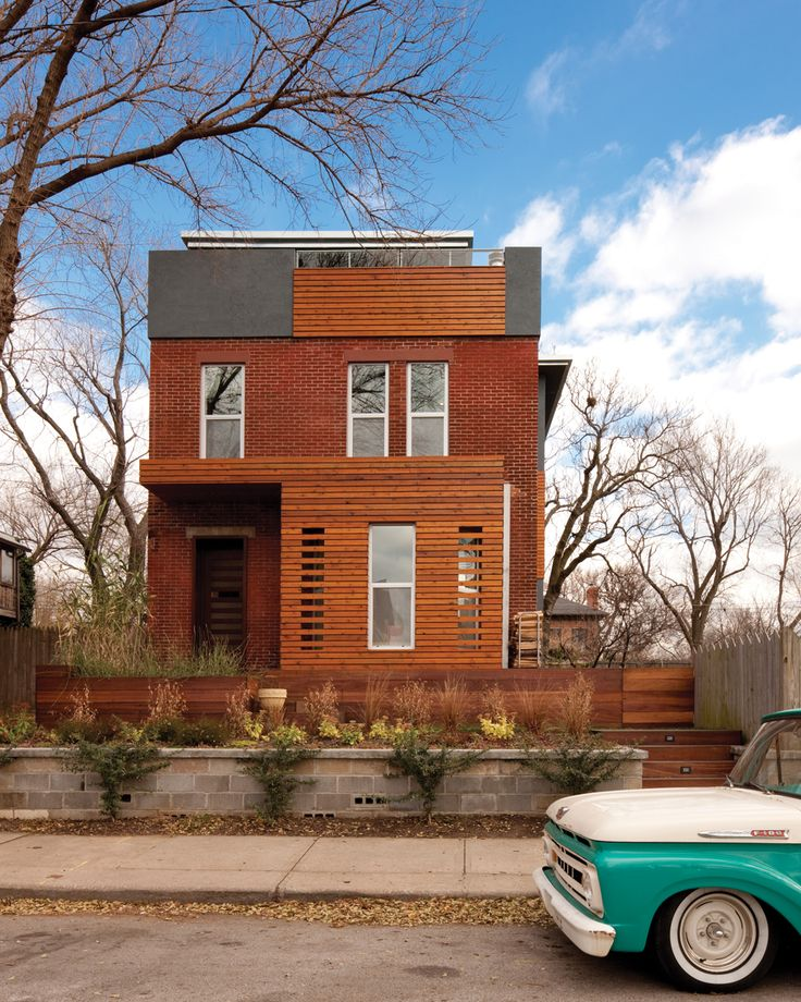 Minimalism Meets Colonial Kansas City Home And Garden