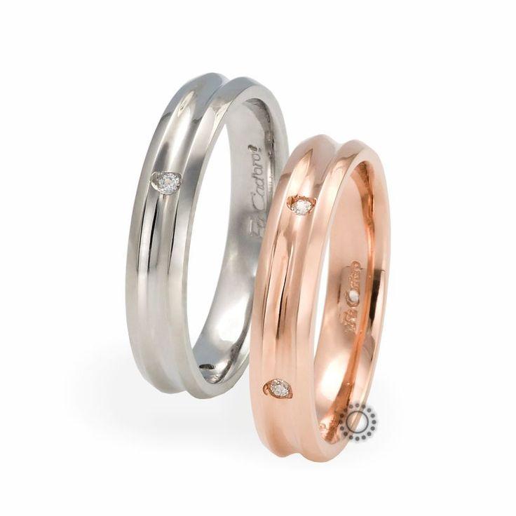 Βέρες γάμου Facadoro 15Α/15Γ - Ένα μοντέρνο σχέδιο από βέρες γάμου FaCadoro | Κοσμηματοπωλείο ΤΣΑΛΔΑΡΗΣ στο Χαλάνδρι #βέρες #βερες #γάμου #facadoro #tsaldaris