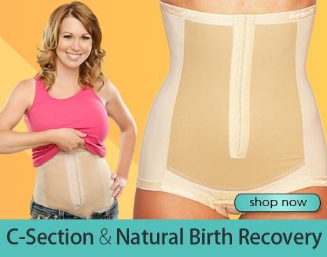 Postpartum Girdle Belly Wrap Medical Compression Garment C