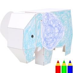 Drawing Papercraft: Elephant - Play - Toys - Paper Craft - Canon Creative Park