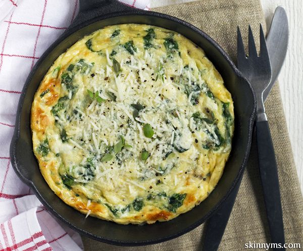 If you have yet to try this mouth-watering Spinach and Mozzarella Frittata, you don't know what you're missing!  #spinach #mozzarella #fritatta #recipe