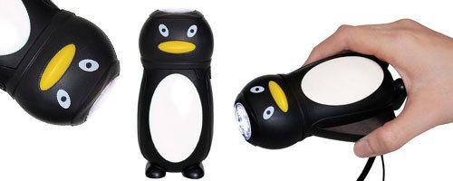 LED Penguin Eco Torch - UrbanBaby