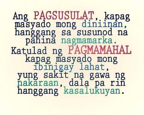 Tagalog Quotes : Pagmamahal Quotes