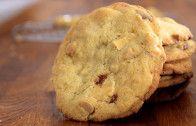 Chocolate Chip Cookies mit Karamellkern