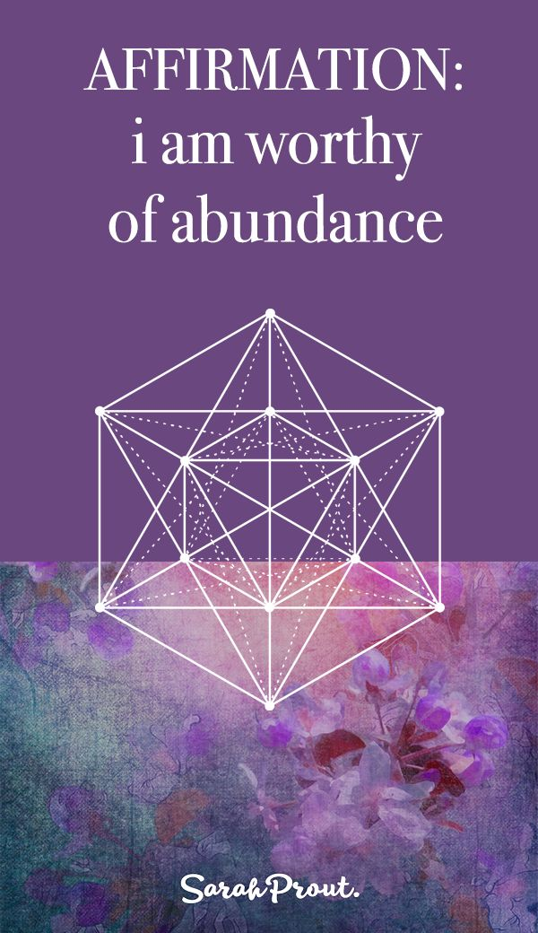 #Affirmation: I am worthy of ABUNDANCE. Intention setting is the first step in the manifesting process. If you want a FREE magical worksheet to spark a deep conversation with the Universe the click on this pin.