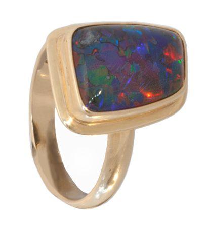 Product No.241 – Super Gem Triplet Ring on http://www.opalessence.net.au