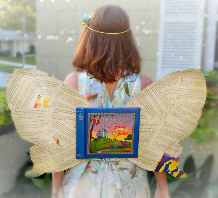 DIY Book Fairy Costume--love it!!