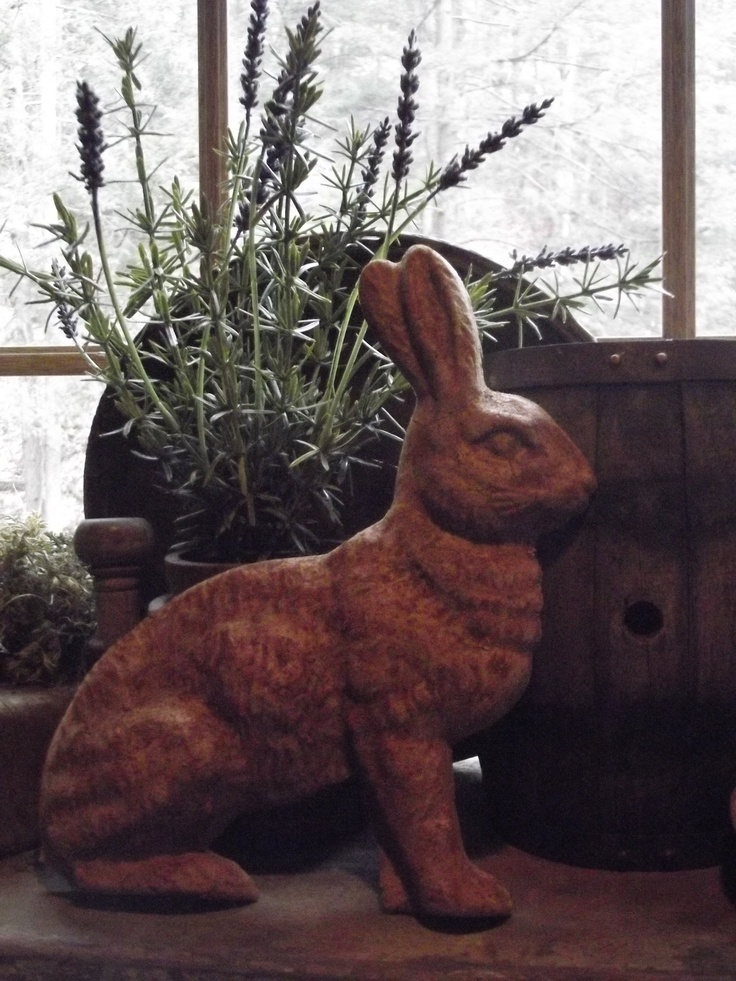 Primitive Spring Bunny Lavender