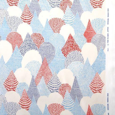 点と線模様製作所 : ミニバッグ mori / ブルー | Sumally