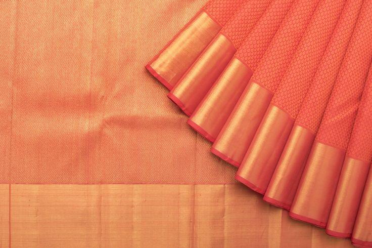 Kanakavalli Handwoven Kanjivaram Silk Sari 1015492 - Brands / kanakavalli - Parisera