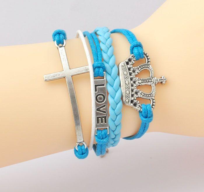 Bratara royal blue