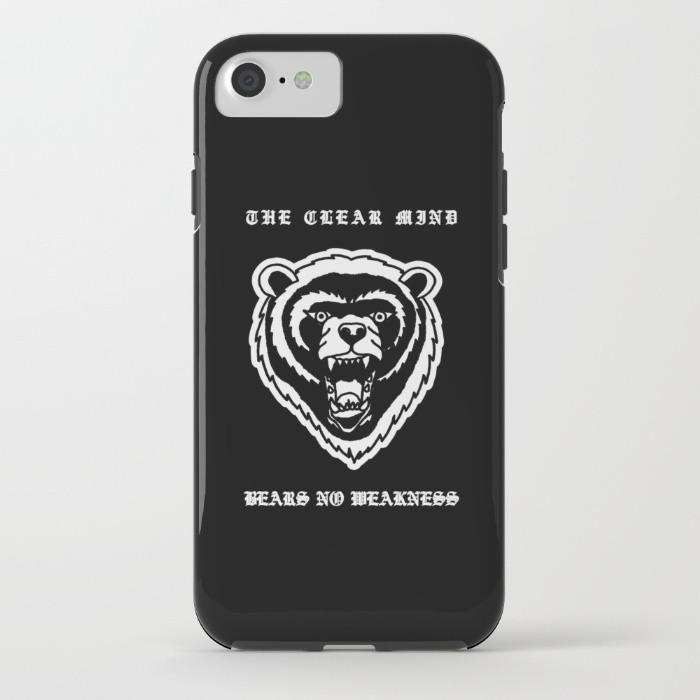 Bear No Weakness 2016 Phone Case