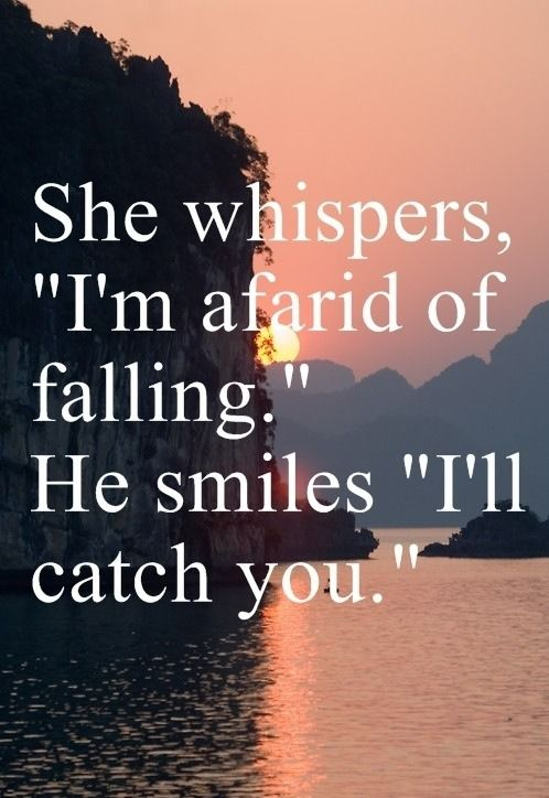 she whispers