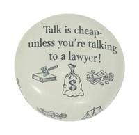 Lawyer paperweight