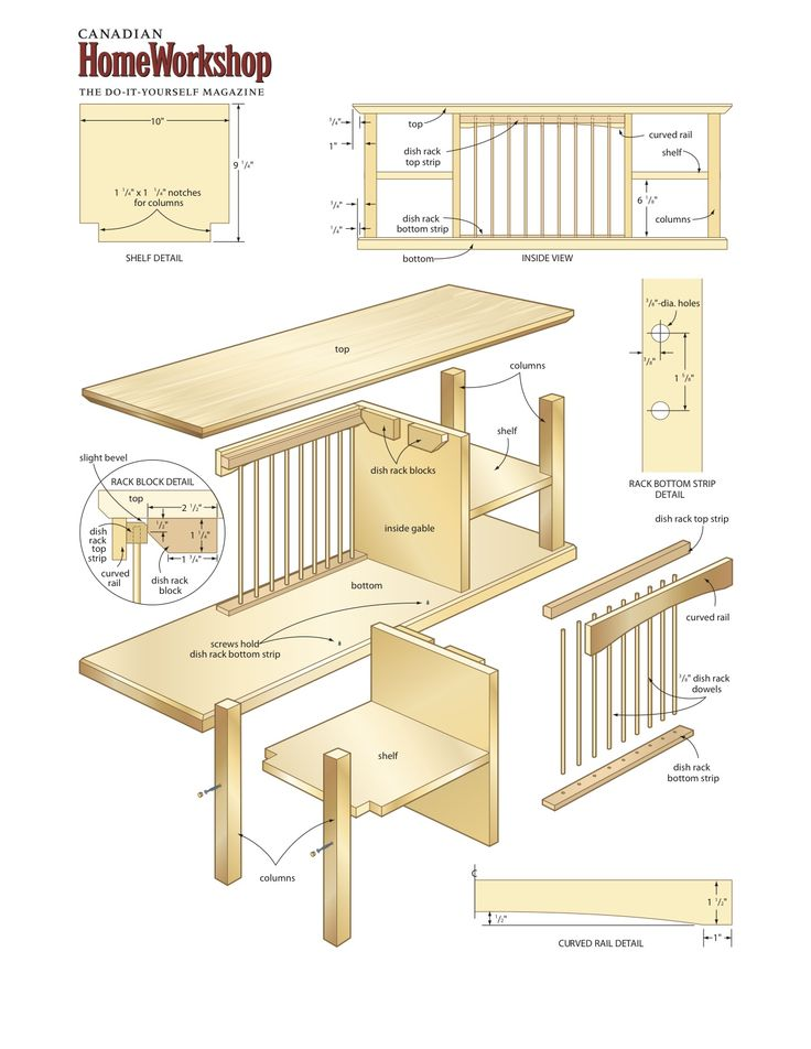 Wooden Plate Rack Plans WoodWorking Projects & Plans