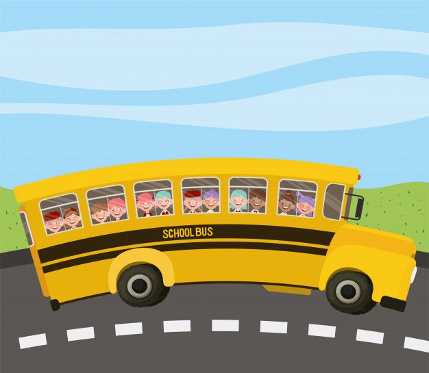 Download School Bus With Kids In The Road For Free Em 2020 Com