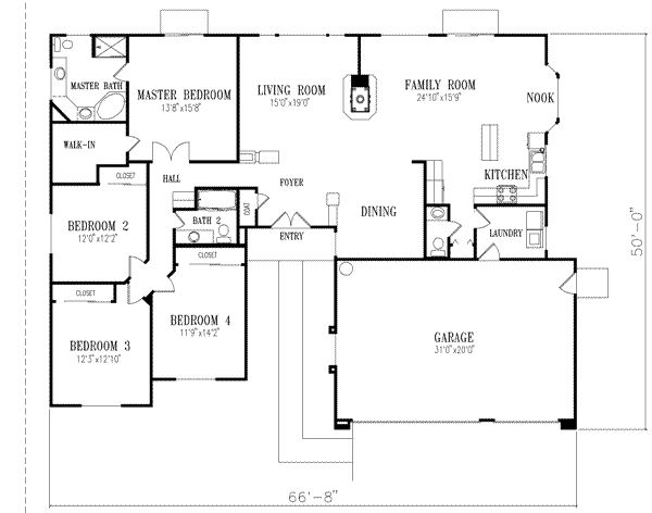 47 best images about house plans on pinterest first for Half basement house plans