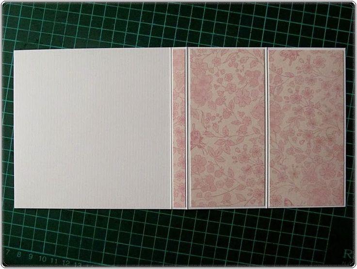 Na dzisiaj przygotowałam kartkę sztalugową z zapiśnikiem i krótki kursik JEJ wykonania. Taka kartkę widziałam w necie i postanowiłam wykona...