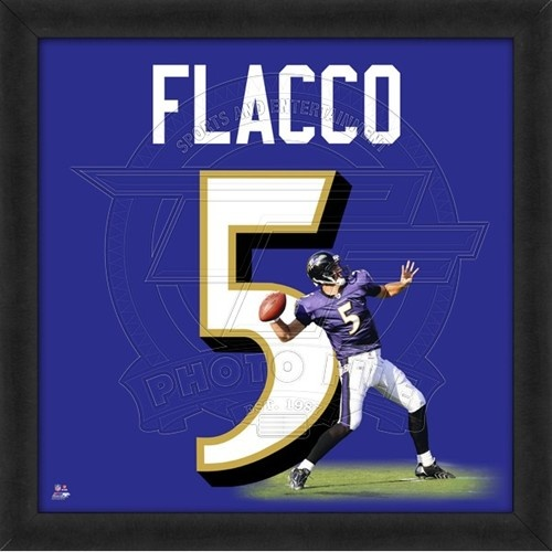 Baltimore #Ravens Joe Flacco UniFrame. Click to order! - $59.99